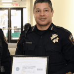 National Guard & Reserve Group Honors CSN Police Chief
