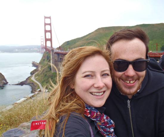Jacqui and Dan in San Francisco, US