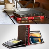 Leather Book Case for iPad
