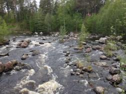 Älvkarleby-Wasserfall