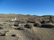 Ghosttown Bodie - Friedhof