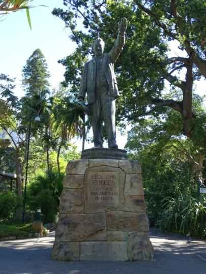 Statue Premierminister Cecil Rhodes