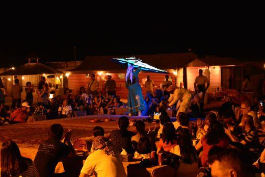 Tanzvorführung im Beduinencamp