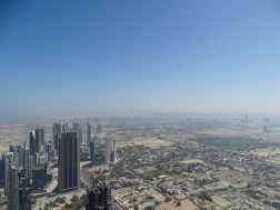 Blick Richtung Dubai Marina