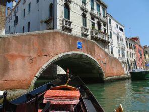 Gondelfahrt durch Venedig