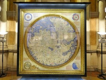 Weltkarte von Fra Mauro