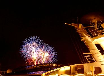 Sail Away-Party der Norwegian Escape
