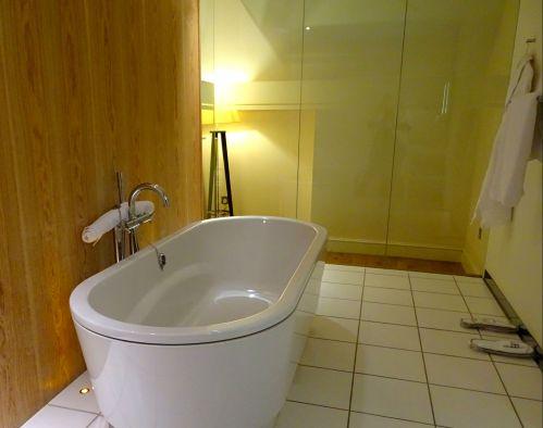 Badewanne im ABode Hotel Canterbury