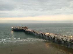 Blick auf den Pier vom Brighton Wheel
