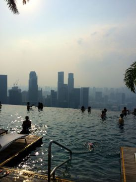 Infinity Pool, Marina Bay Sands
