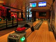 Bowling Lane auf der Norwegian Escape