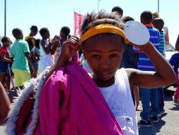 Mädchen im Township Khayelitsha
