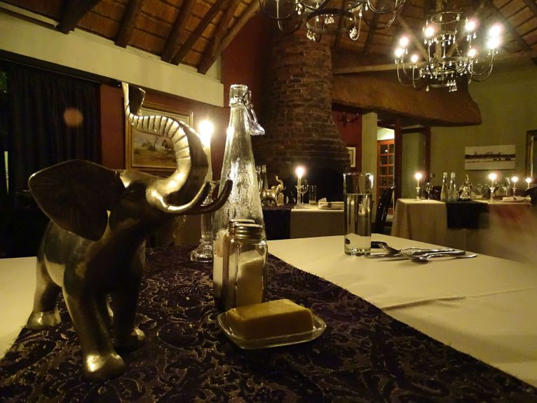 Dinner Tintswalo Safari Lodge