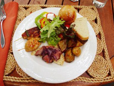 Lunch, Tintswalo Safari Lodge