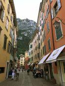 Die Gassen von Riva del Garda