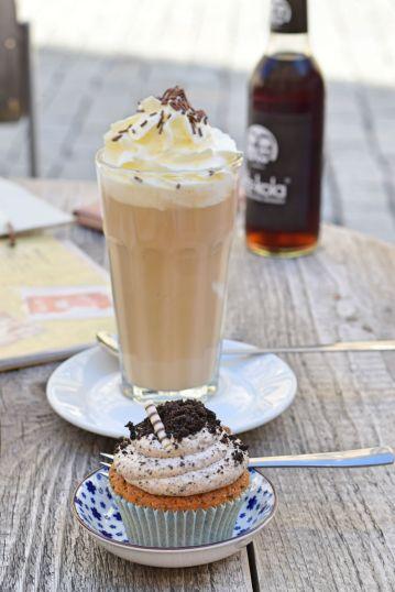 Kaffeepause im Heimathafen