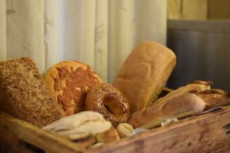 Frühstück im Conrad Pezula Hotel