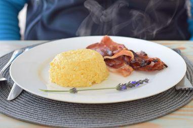 Frühstück in der Whale Rock Luxury Lodge