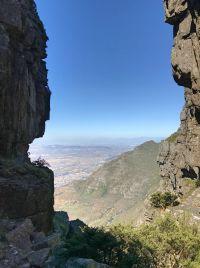 Wanderung durch die Platteklip Gorge-Schlucht