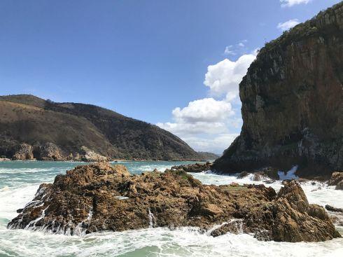 Knysna Heads, Blick Richtung Lagune