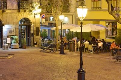 Cagliari am Abend, Sardinien