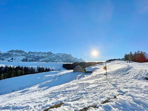 Winterwanderung auf den Kronberg