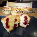Lemon Raspberry Muffins