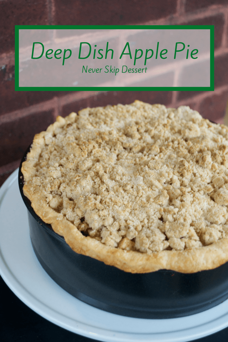 Deep Dish Apple Pie - The Year of Living Audaciously