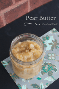 Pear Butter - The Year of Living Audaciously