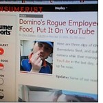 Note to Domino's Pizza: News travels fast, especially when it's bad
