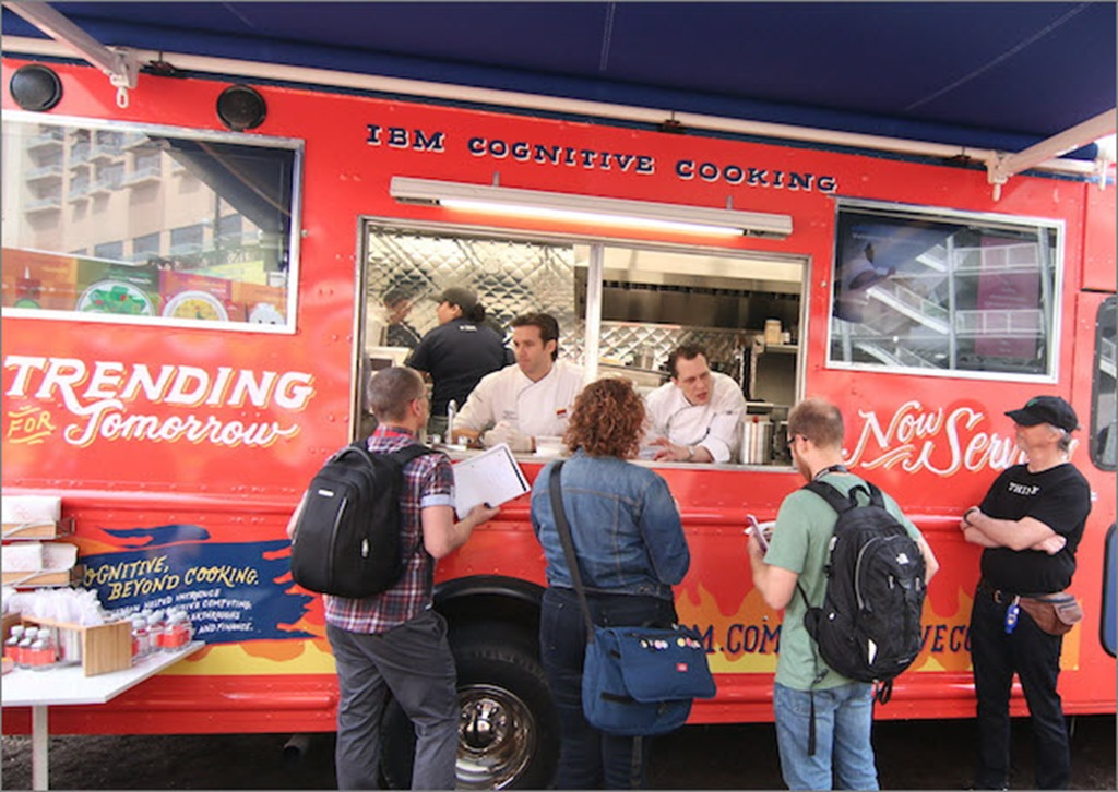 IBM Cognitive Cooking truck