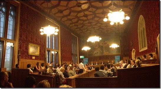 The debate in Committee Room No 10 / pic by Kate Matlock