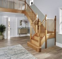 Wooden Staircases - Timber Staircase - Neville Johnson