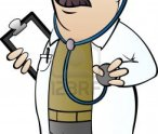 doctor-with-stethoscope-in-cartoon-style