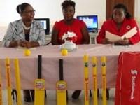 Pics Left to right-Zahnela Claxton; Anesta Maynard and Ms. Ebony Harp