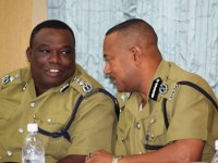 Commissioner and Deputy Commissioner at Lecture in Nevis