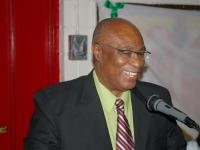 Former Premier of Nevis and leader of the Nevis Reformation Party, the Hon. Joseph Parry