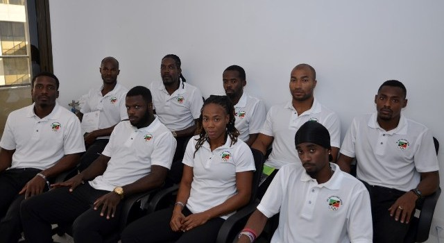 Goodbye Rio 2016 - Members of Olympic Team SKN