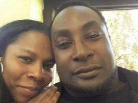 Keith Lamont Scott is pictured with his wife, Rakeyia ScottFacebook
