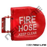 Red Vinyl Fire Hose Reel Cover for NFHR Series