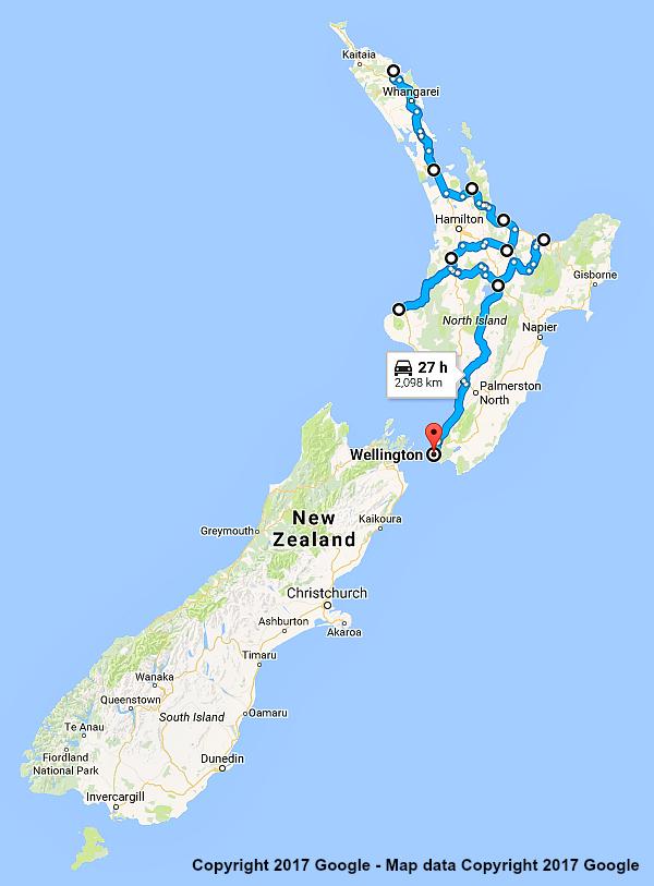 New Zealand Itinerary North Island Showcase 21 Days