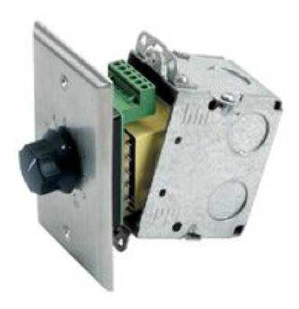 AT35 - ATLAS SOUND - 35W Wall Volume Control for 70V Systems
