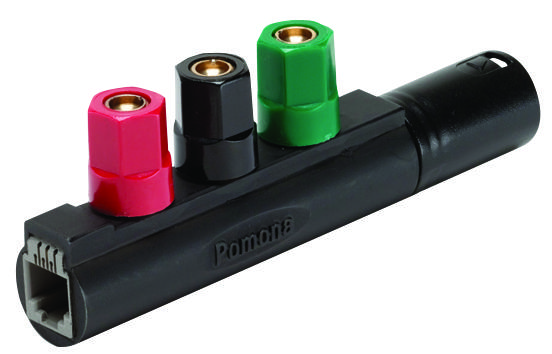 7289 - POMONA - Connector Adapter, XLR, 1 Positions