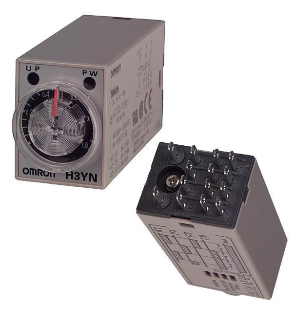 H3Y-2 AC100-120 10S - OMRON INDUSTRIAL AUTOMATION - Analog Timer