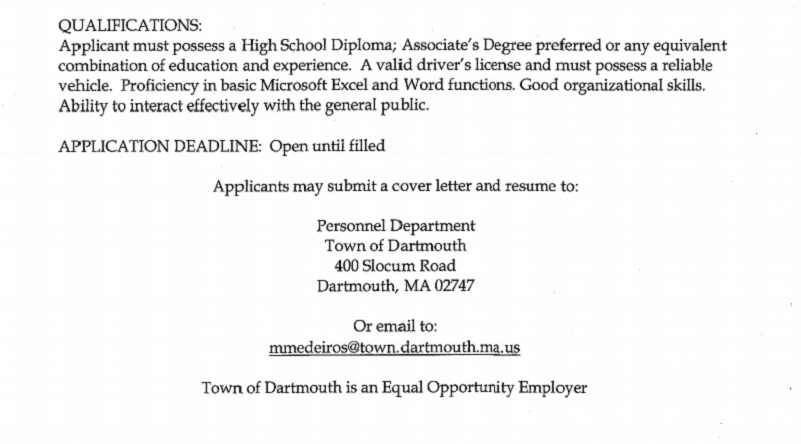 Category Jobs - New Bedford Guide
