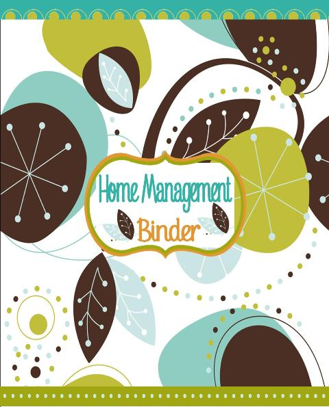 New Bee Homeschooler - Home Management Binder