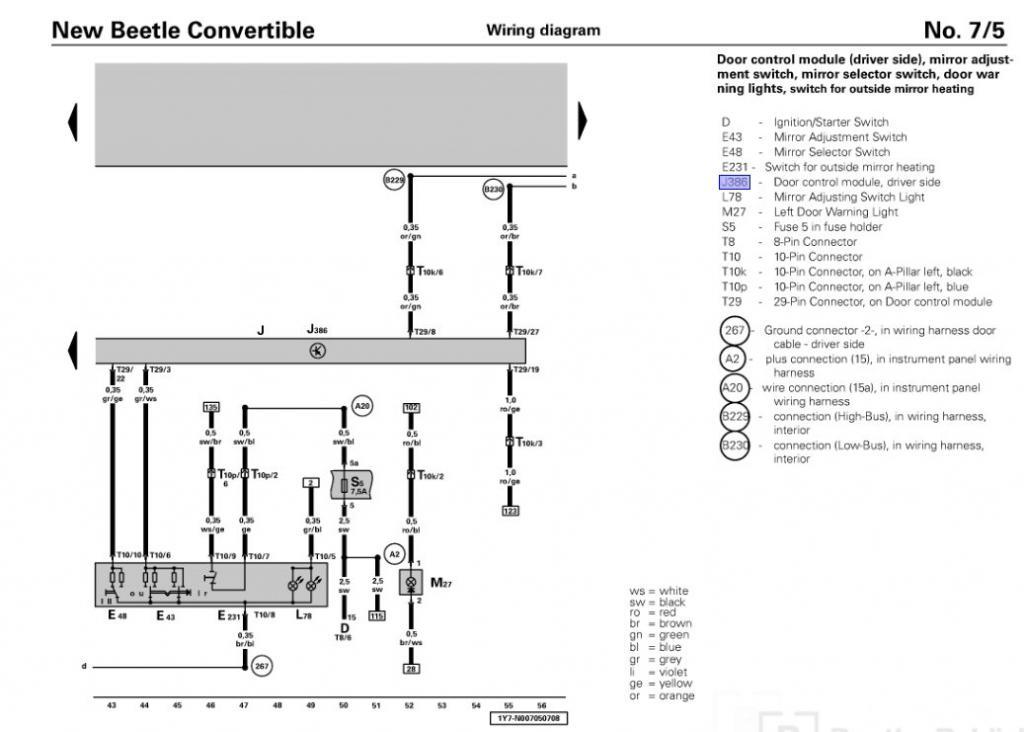 1998 Vw Beetle Wiring Harness - Wiring Harness Schematics \u2022