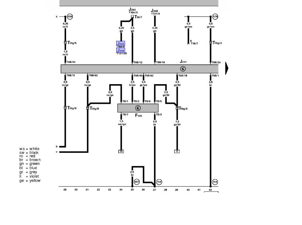 TCM wiring diagram needed P0768 - help - NewBeetleorg Forums