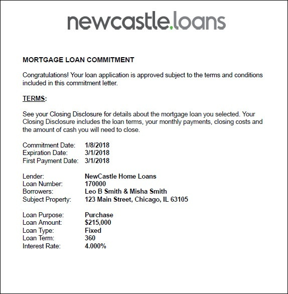Understanding Your Mortgage Commitment Letter