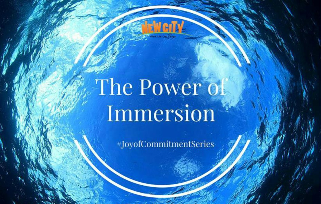 The Power of Immersion Image